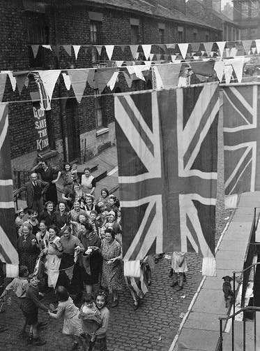 VE Day in London's East End