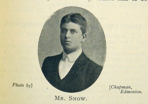 Joseph Snow railway goods guard