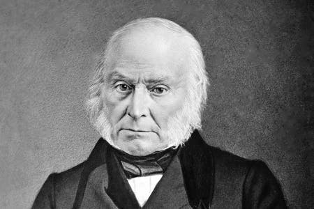 John Quincy Adams' ancestry