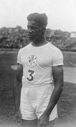 Jack London - first Black British Olympian