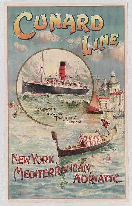 Old ship posters