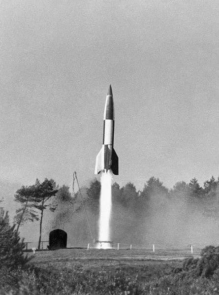 The V2 Rocket.