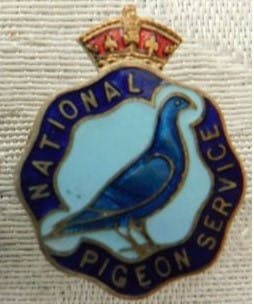 Crest of the National Pigeon Service, World War 2
