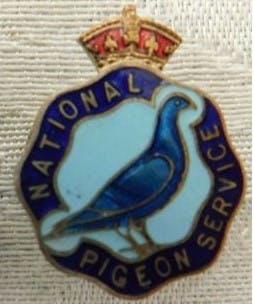 Crest of the National Pigeon Service, World War 2