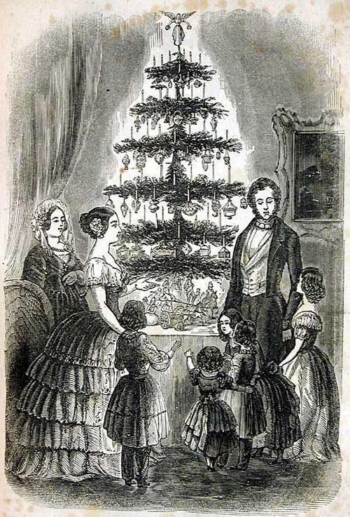 Queen Victoria and the Christmas tree