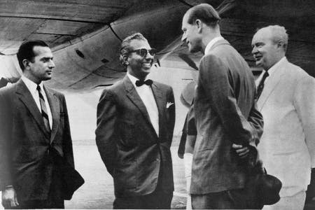 prince philip at atkinson airport