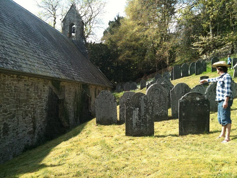 Welsh burial ground