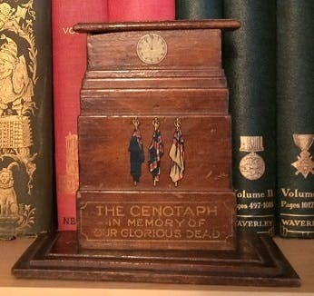 Original Cenotaph wooden money box