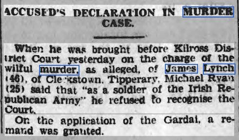 Derry Journal archives, 1939.