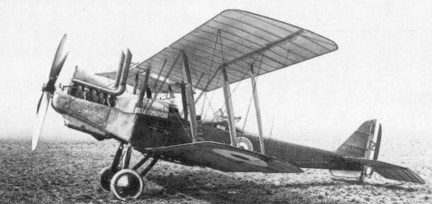 Royal Aircraft Factory RE8 1 - William Clarke Robinson's life story