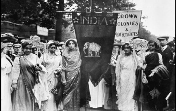 Indian suffragettes