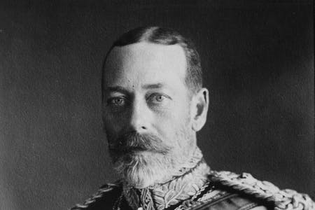 King George V family tree