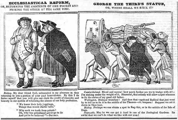 Cleave's Weekly Police Gazette illustrations