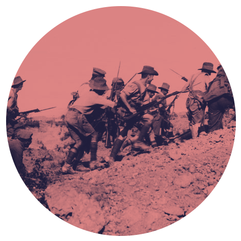 Anzacs at Gallipoli
