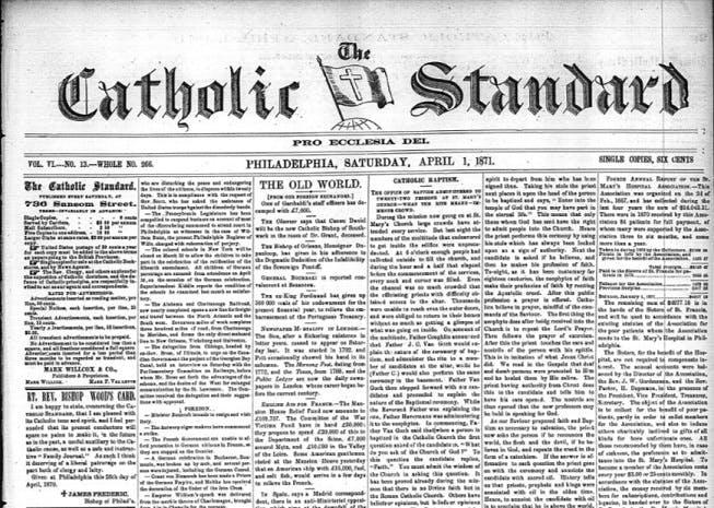Catholic Standard newspaper archives