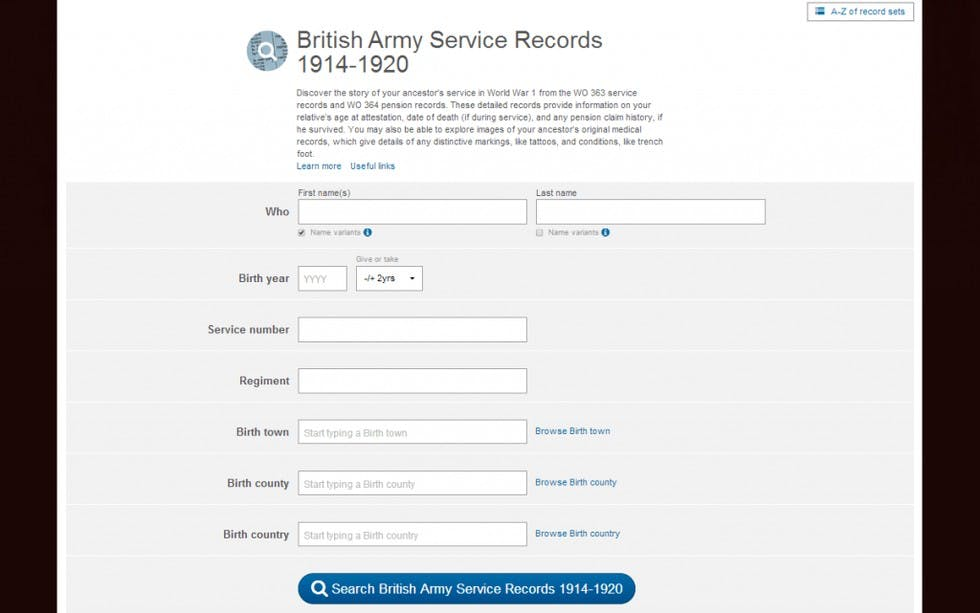 getting-started-with-your-world-war-1-family-history-research-image