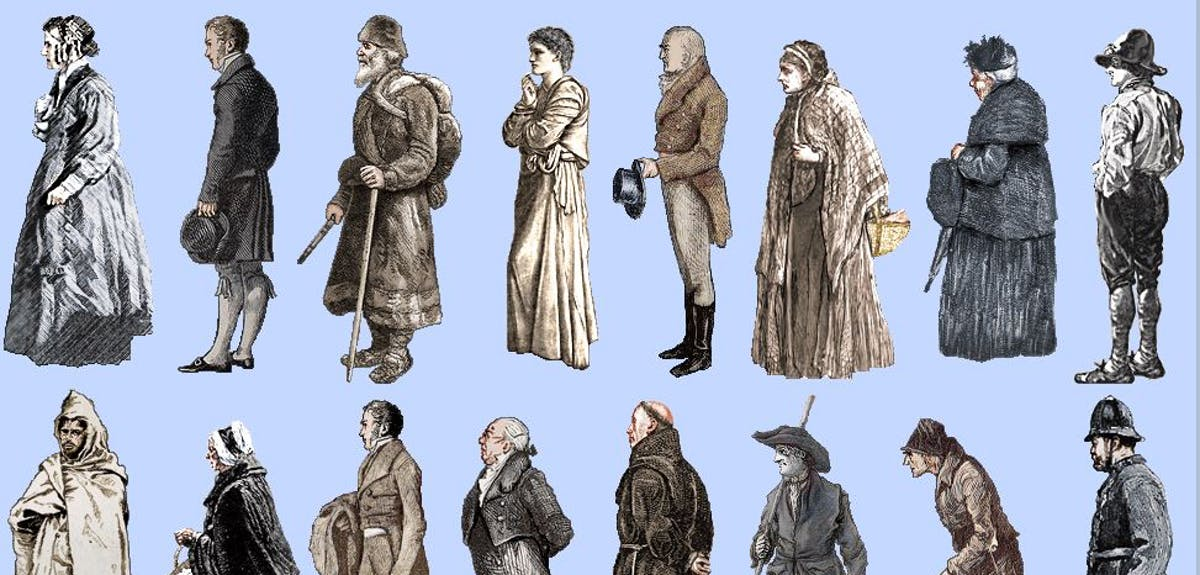 People in Victorian times