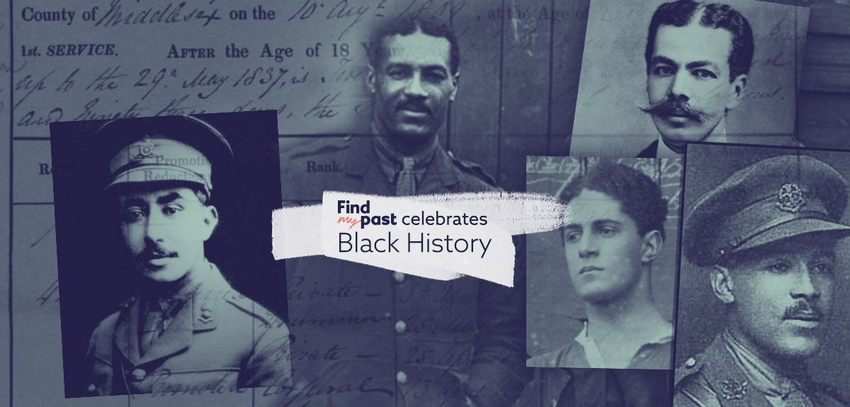 The first Black British Army officers