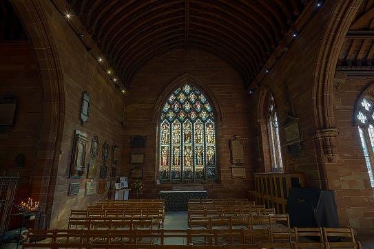 St Martins in the Bull Ring church, Birmingham
