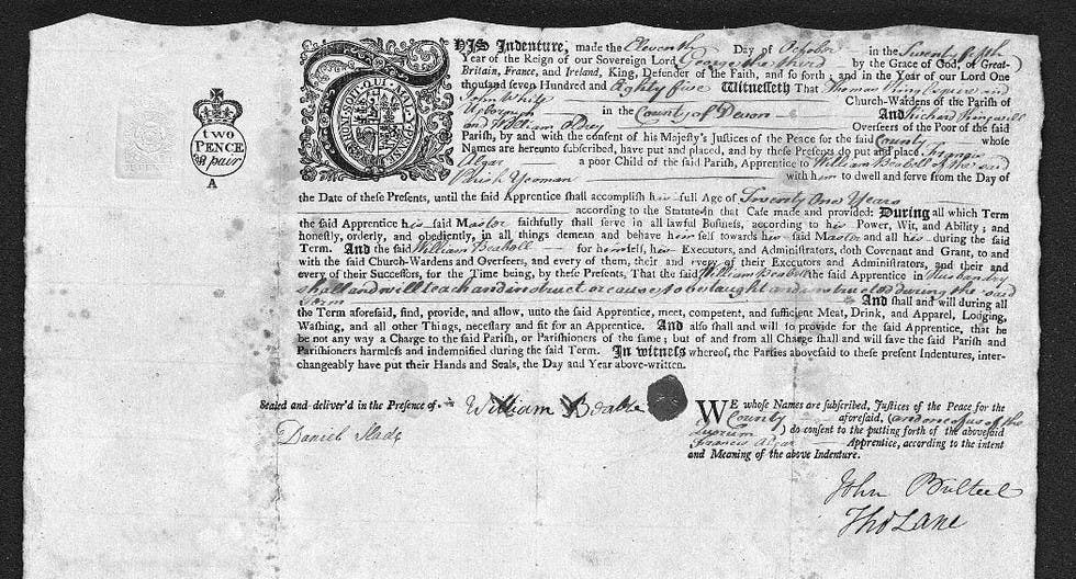 A copy of the indenture