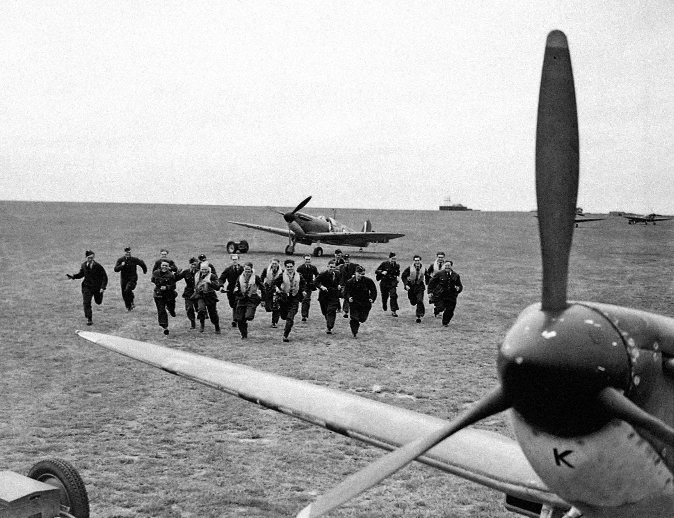 RAF pilots in the Battle of Britain
