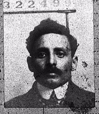 Merchant Navy Seaman Ali Abbas Aden, Arabia, born 1888
