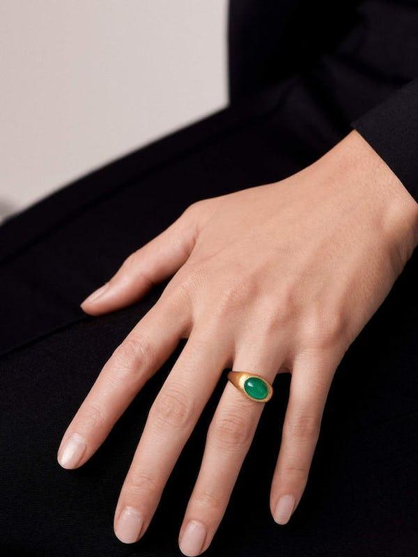 Iconic jewellery stories: Prounis Roz ring