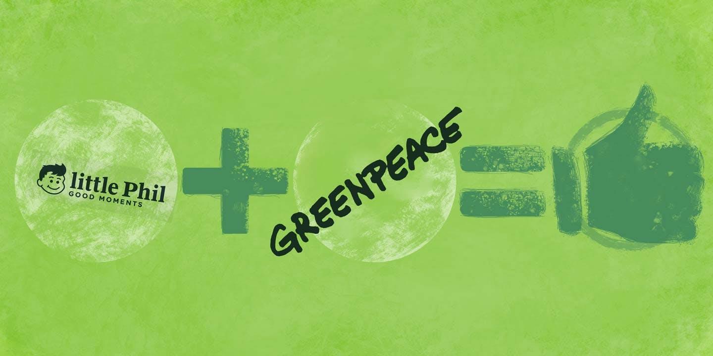 Blockchain Startup and Greenpeace Partnership