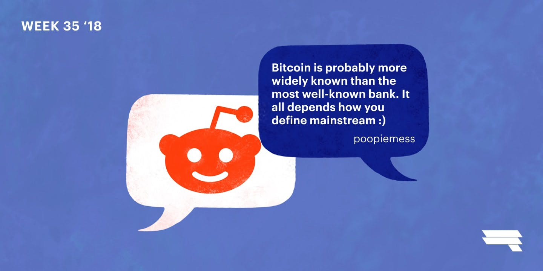 Bitcoin is already kinda mainstream