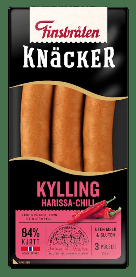 Knäcker Harissa Kylling