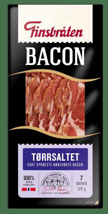 Tørrsaltet bacon 120g