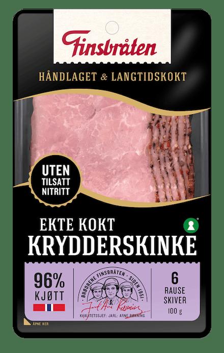 Ekte Kokt Krydderskinke 100g