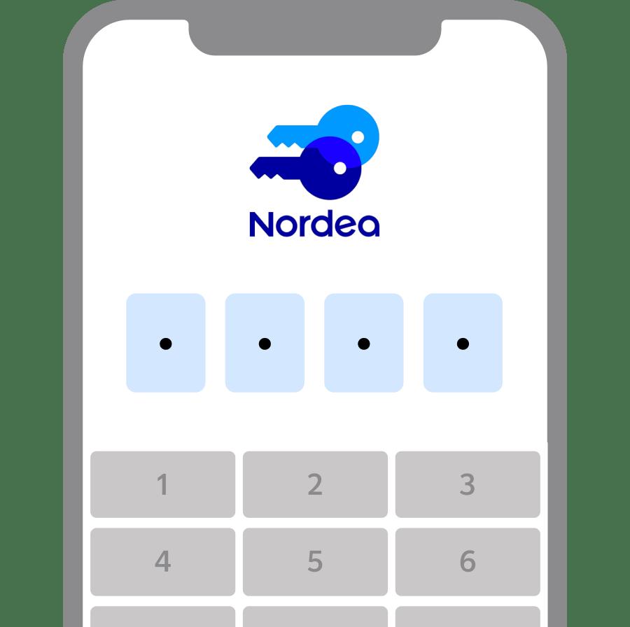 PIN bild från koder app