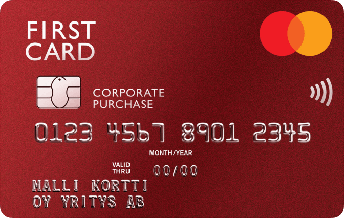 First Card Hankintakortti