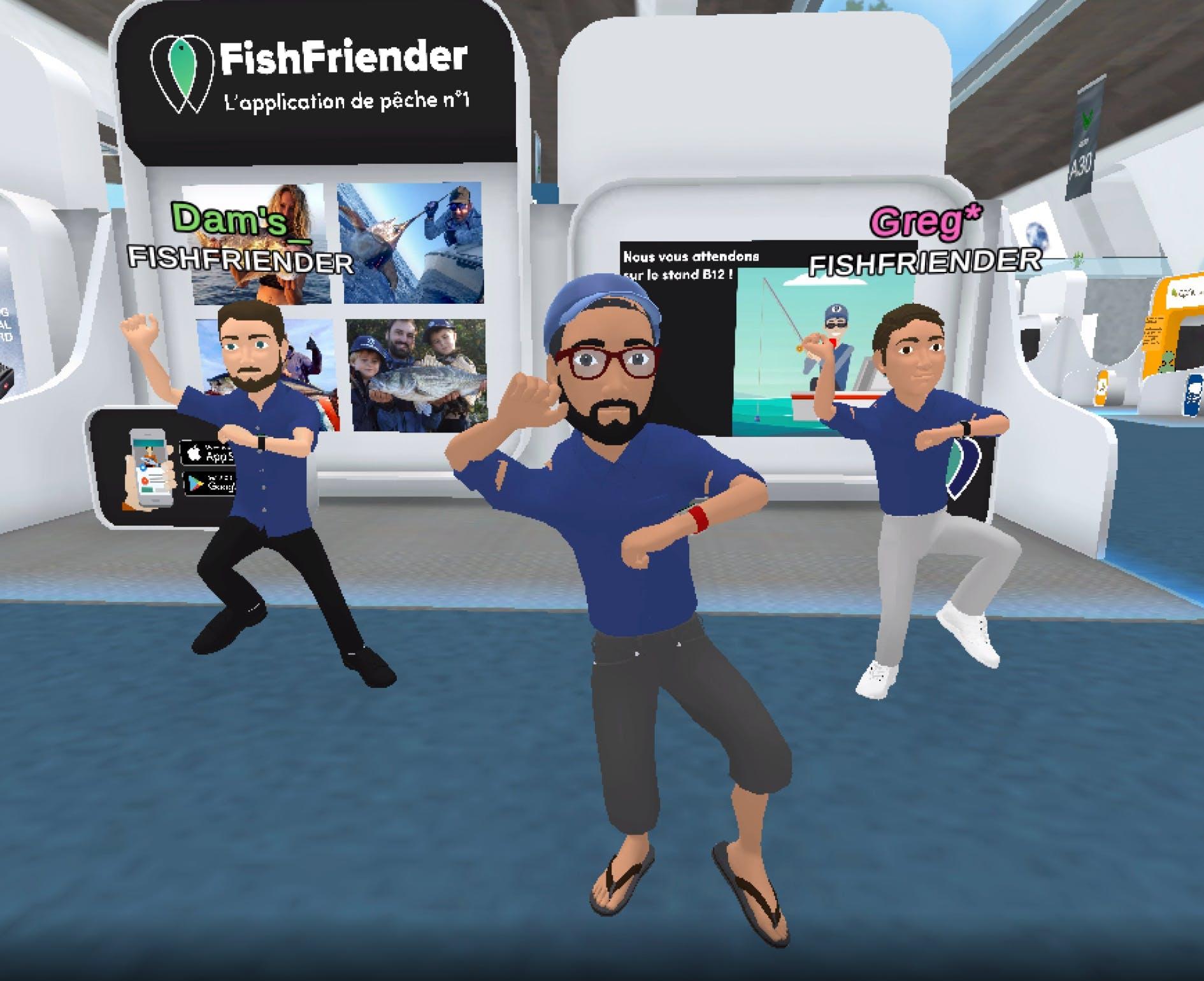 L'équipe FishFriender vous donne RDV sur le stand B12 dans le Hall 4