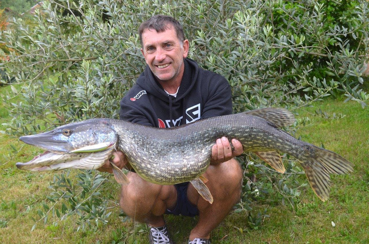 A 1m+ pike is already a very nice fish