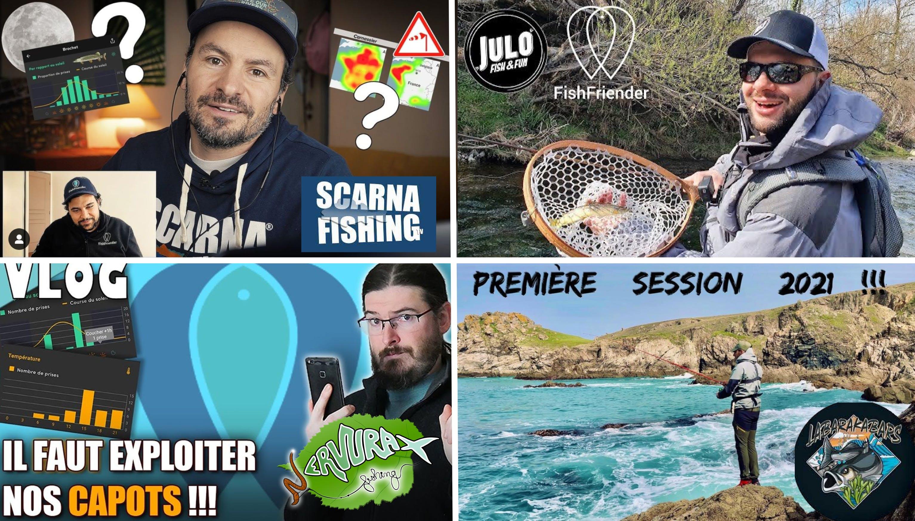 Comment les Youtubeurs utilisent FishFriender ?