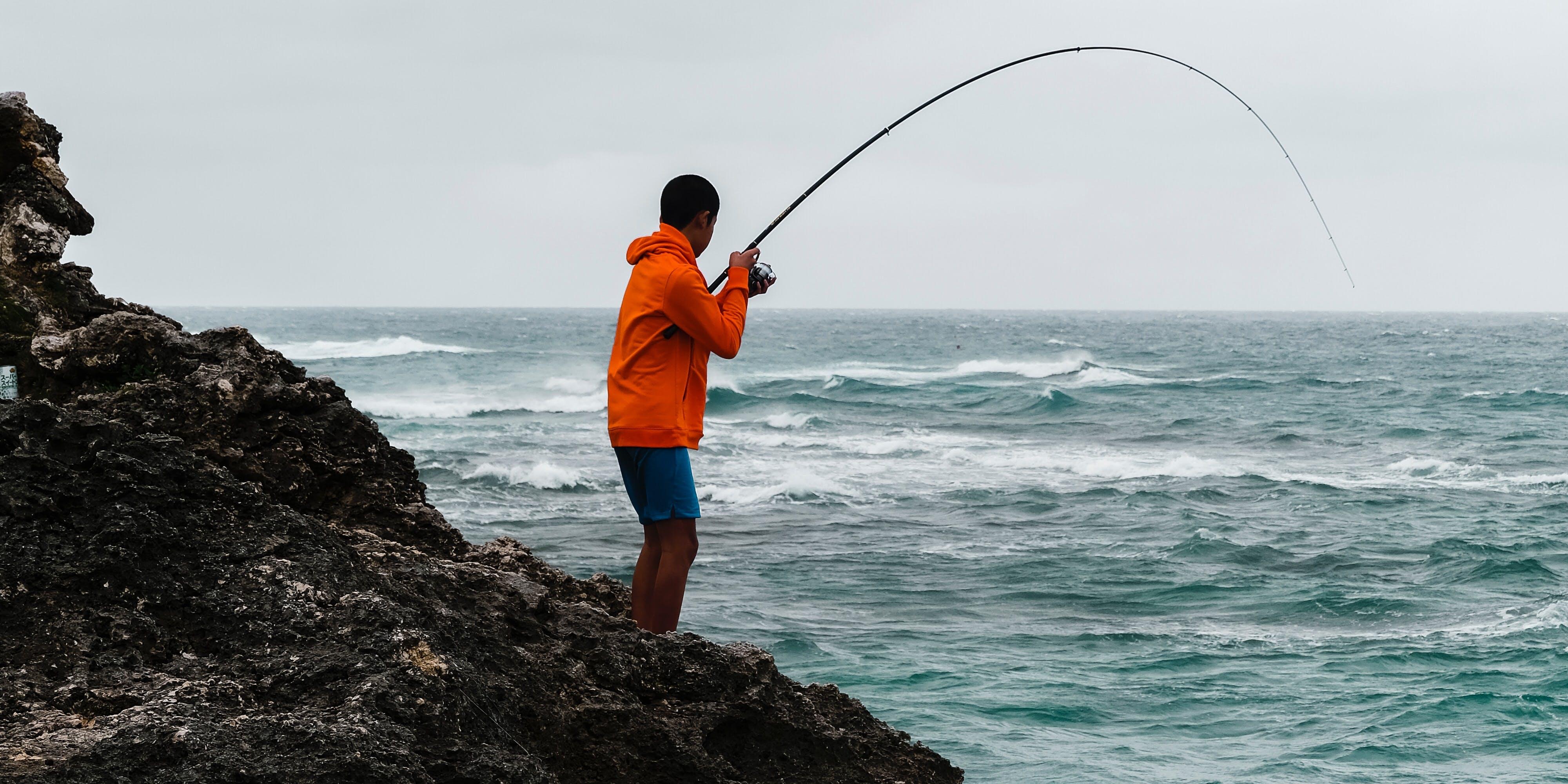 La pêche est le loisir idéal pour se changer les idées au grand air