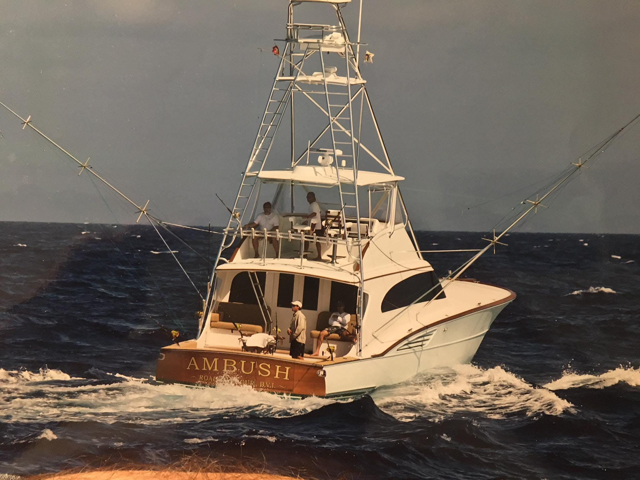 Garlington 61, le genre de bateau sur lequel Vincent skippe dans les meilleurs spots des Caraïbes et du Pacifique