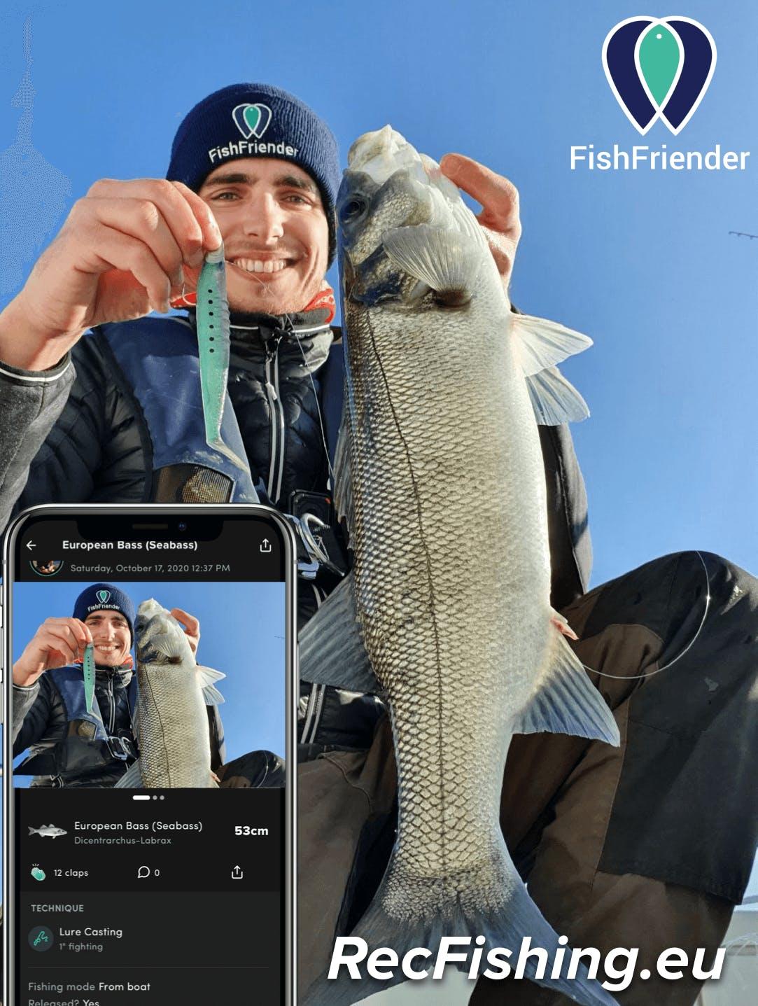 FishFriender is an official partner of the RecFishing.eu programme