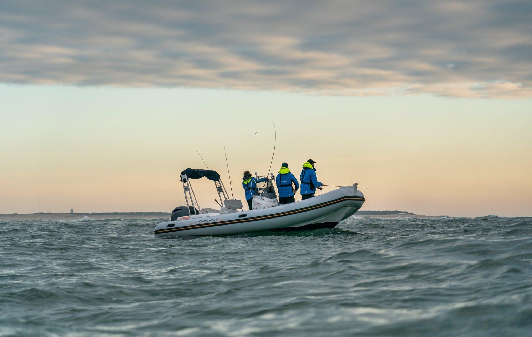 Caperlan SW, la marque pêche en mer du groupe Decathlon