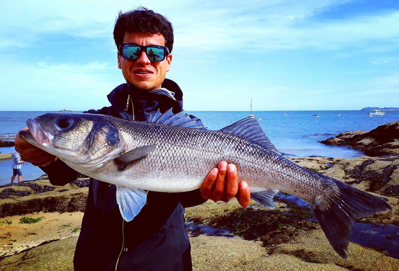 Baptiste Andreotti, pêcheur dans le Morbihan (56)