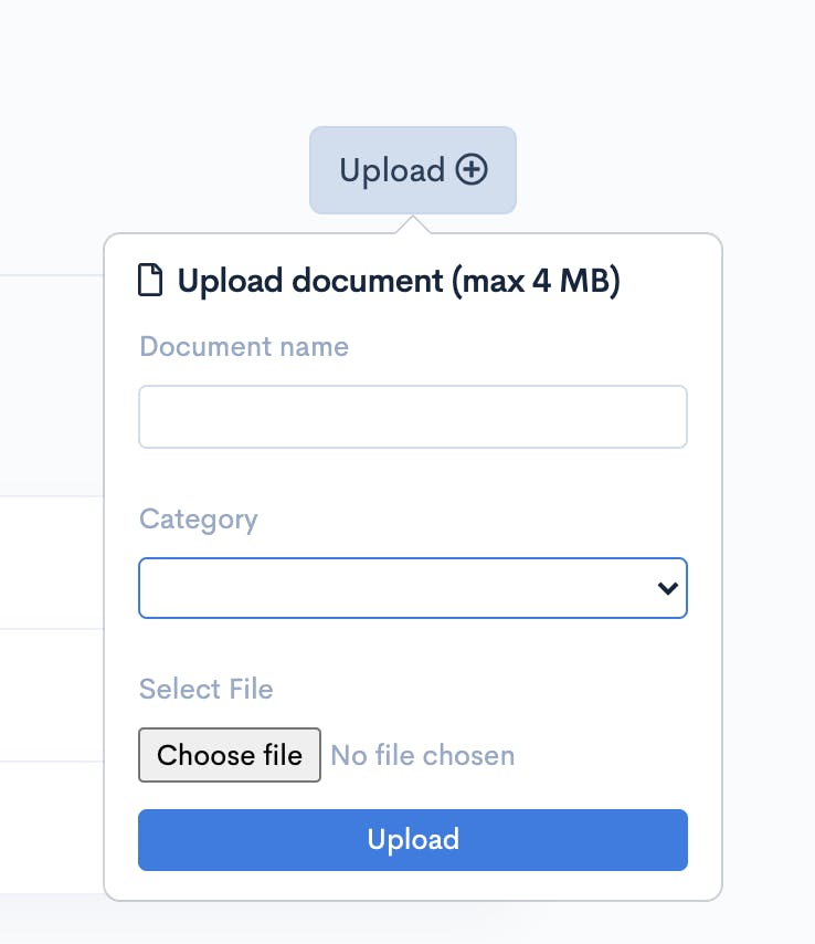 Upload Files to flair's HUB