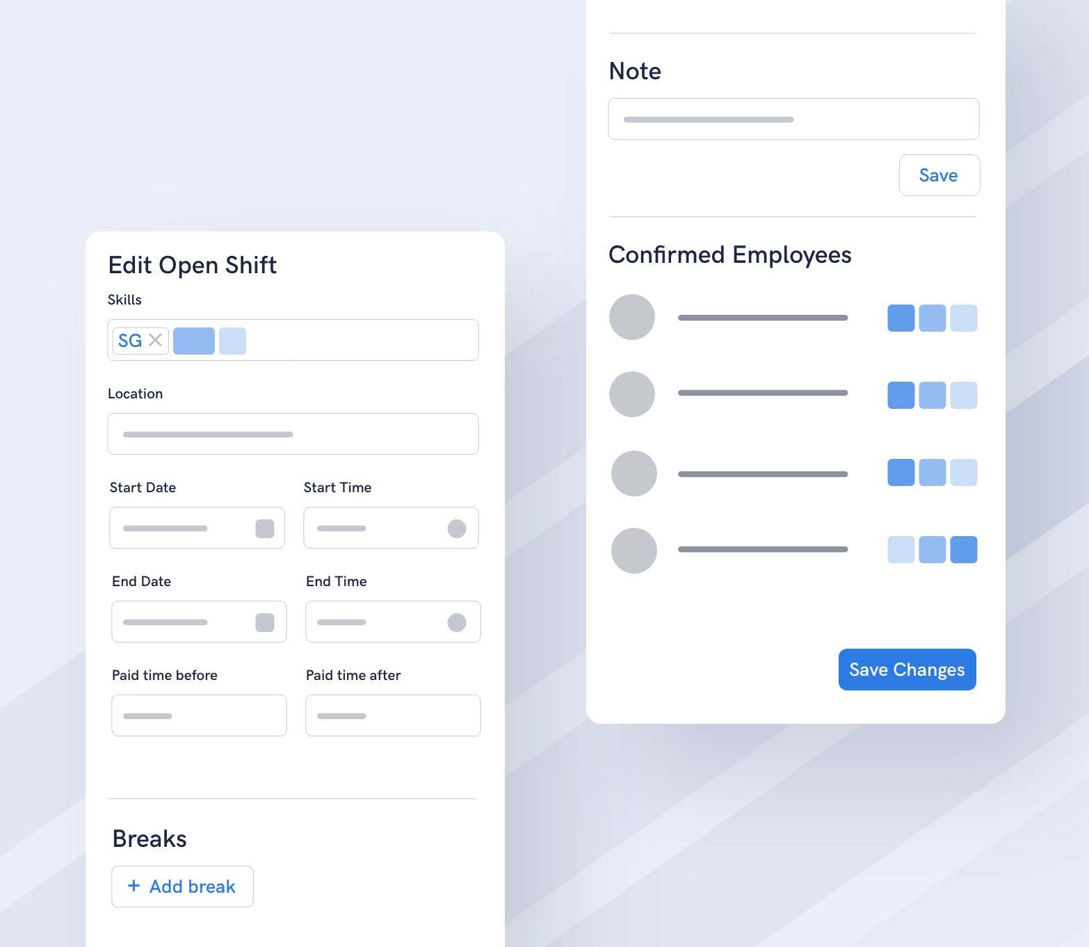 Improved flexibility for your team on flair