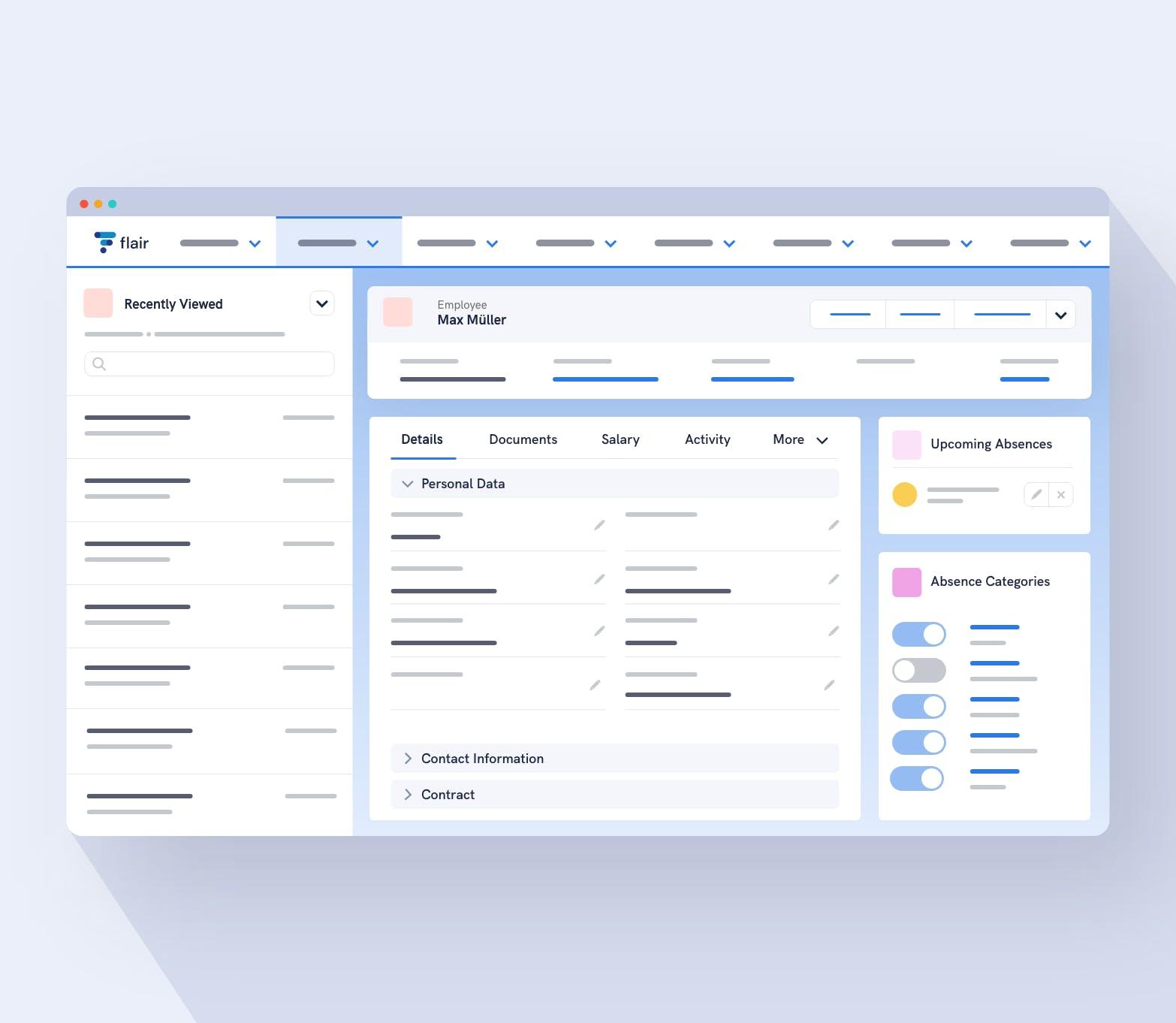 Customisable HR Employee Database on Salesforce