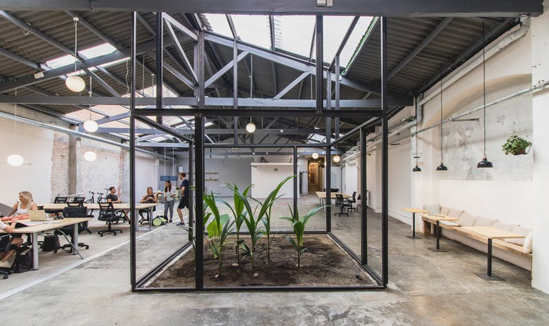 Barcelona - Himmelen for fleksible kontorer!