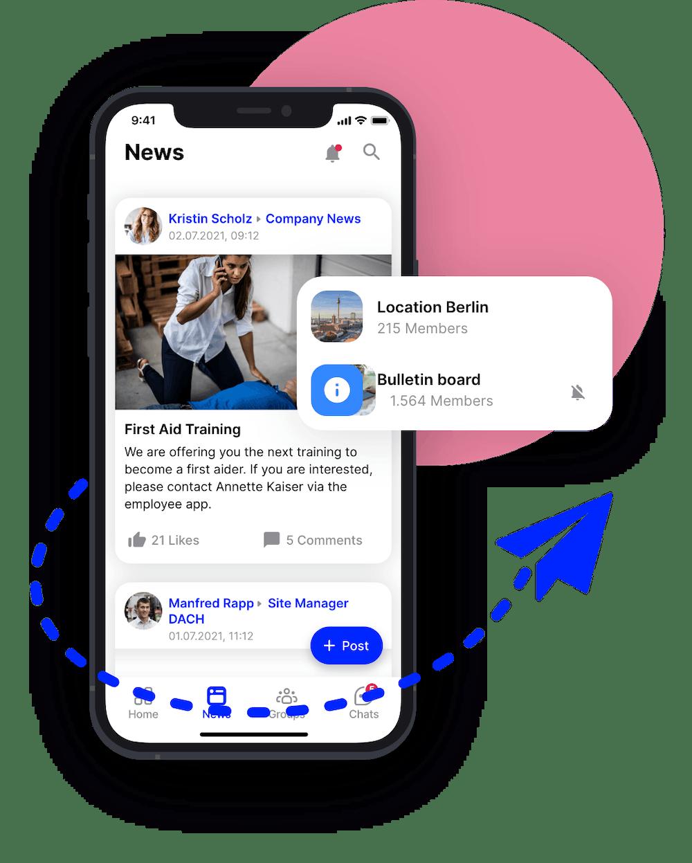 newsfeed flip app