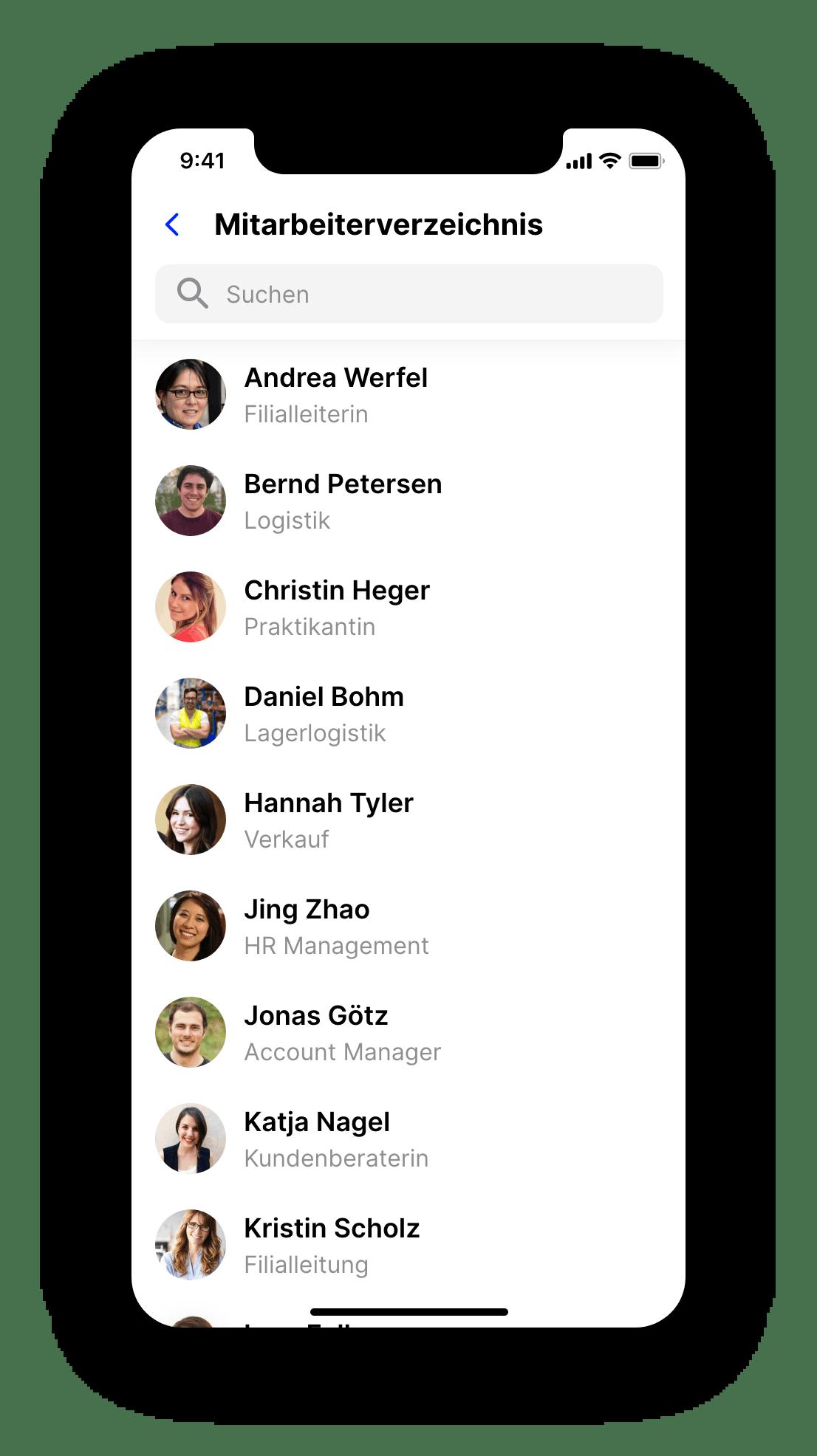 Flip Mitarbeiter App Handy