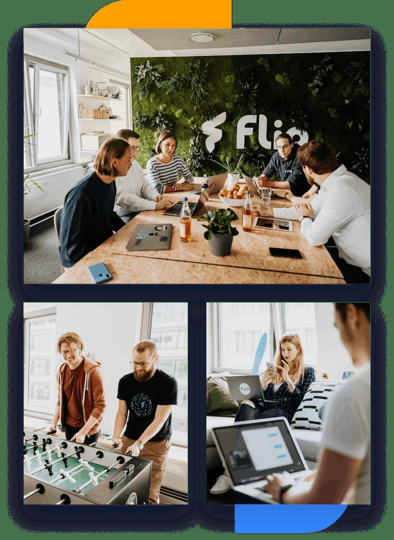 Flip Team im Office
