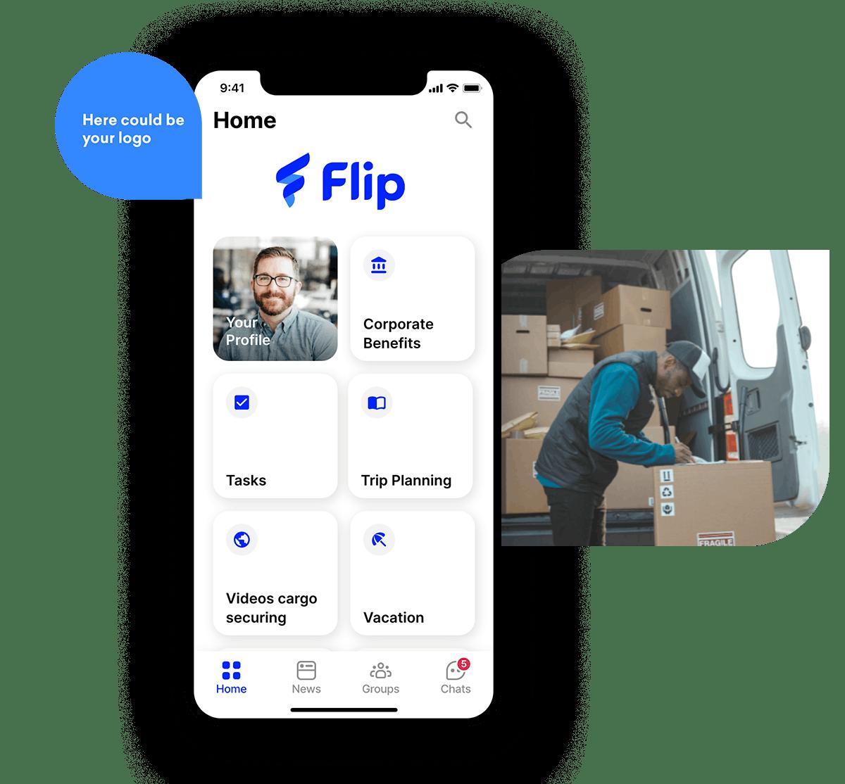employee app logistics apps
